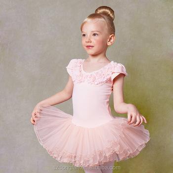 76be6c4e33 Meninas do Ballet Tutu Dança Traje Vestido 2-10 Anos Roupas Traje Collant  de Balé