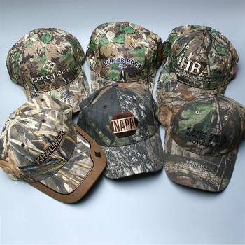 custom realtree jungle camouflage camo hat embroidery baseball caps men