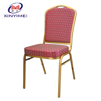 China modern style resturant used stackable iron chair