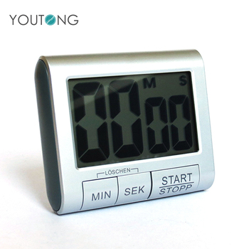 Electric Kitchen Timer with Sound , Cheap Big Display Cool Digital Wall Stopwatch