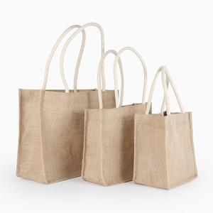 China Online Grocery Carrier Custom Picture of Plastic Jute Shopping Bag
