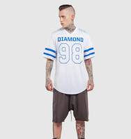 Casual Style Fashion High Street T Shirts for Men Plus Size