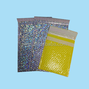 Aluminum foil custom printed bubble mailers mail lite padded envelopes