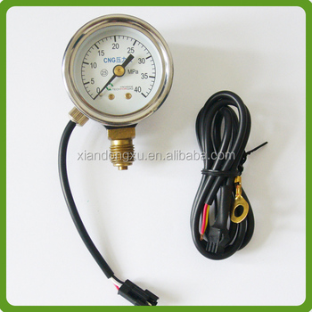 China Supplier High Quality Cng Pressure Gauge,Cng Manometer With ...