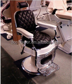 Vintage With European Style Hair Salon Chairs For Equipment