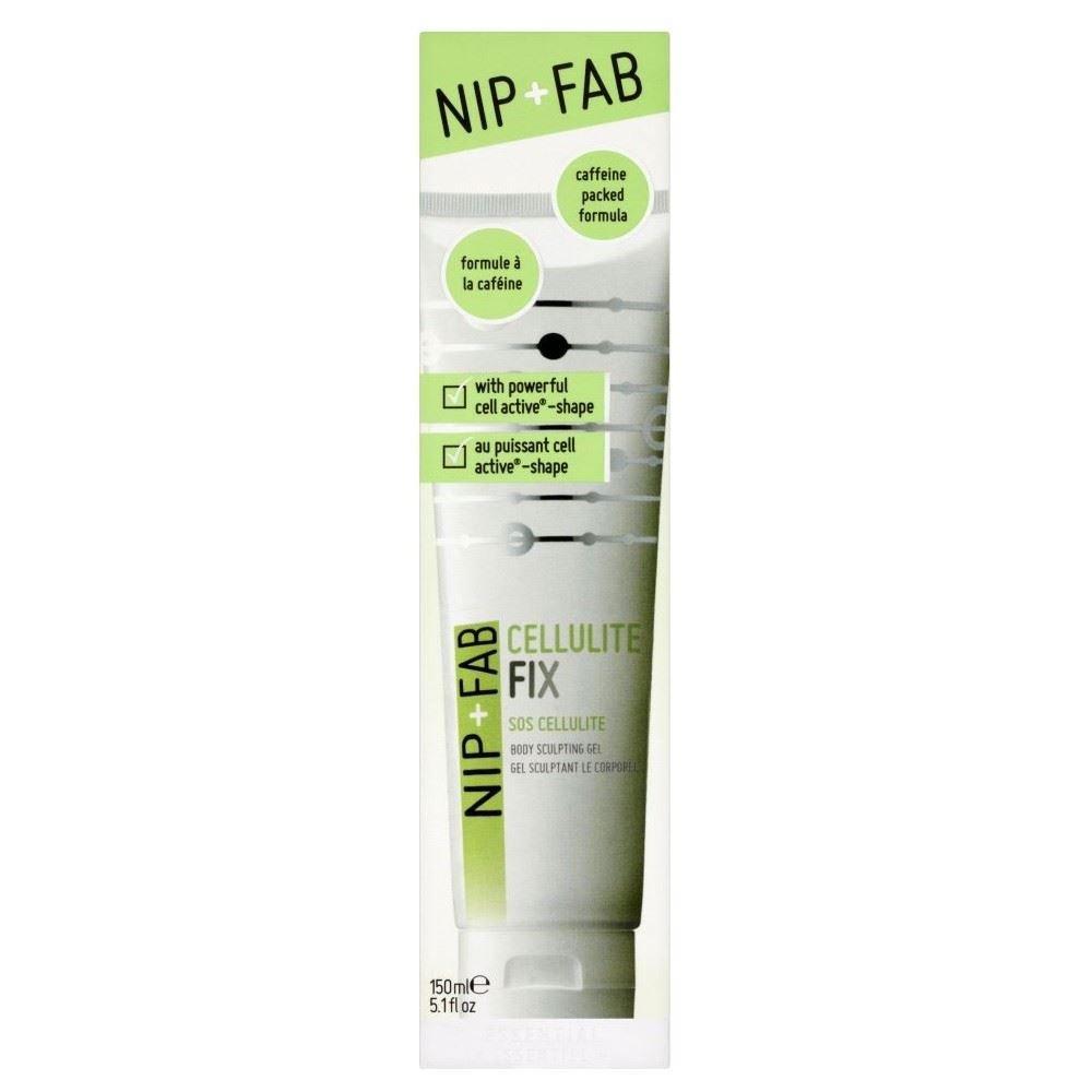 Nip + Fab Cellulite Fix Body Sculpting Gel (150ml) - Pack of 6