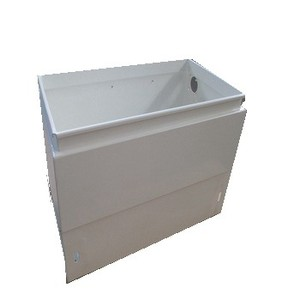 solar battery stainless steel metal battery box metallic battery box