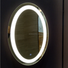 High-end hotel Oval LED Mirror with Incorporated Light