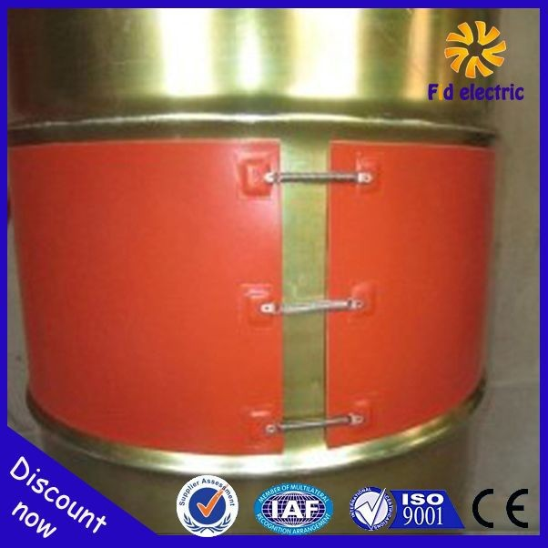 150W Moisture and Oil Resistant Outdoors Silicone Rubber Heater Gas Cylinder Warmer with Over Protector