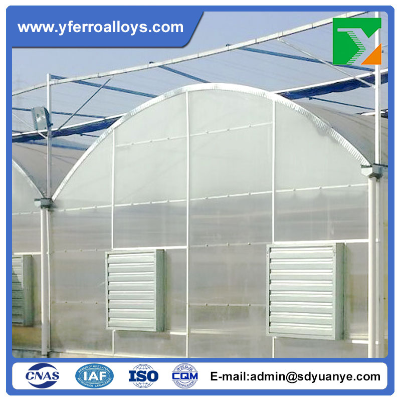 Good Quality Agriculture Plastic Greenhouses Steel Structure For Mushroom