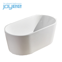 low price Stone Resin Oval Freestanding Bathtub
