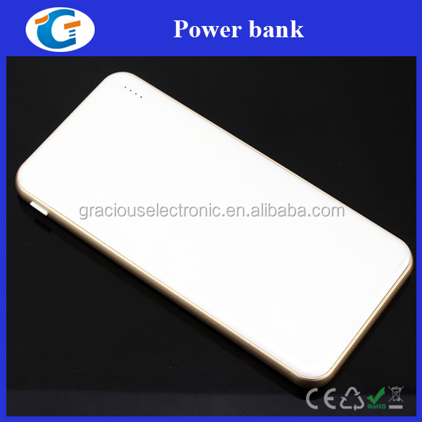 ultra slim design power bank portable charger 5000 mah