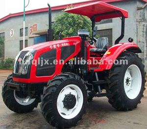 Agricultural equipment Dual clutch farming tractor with canopy