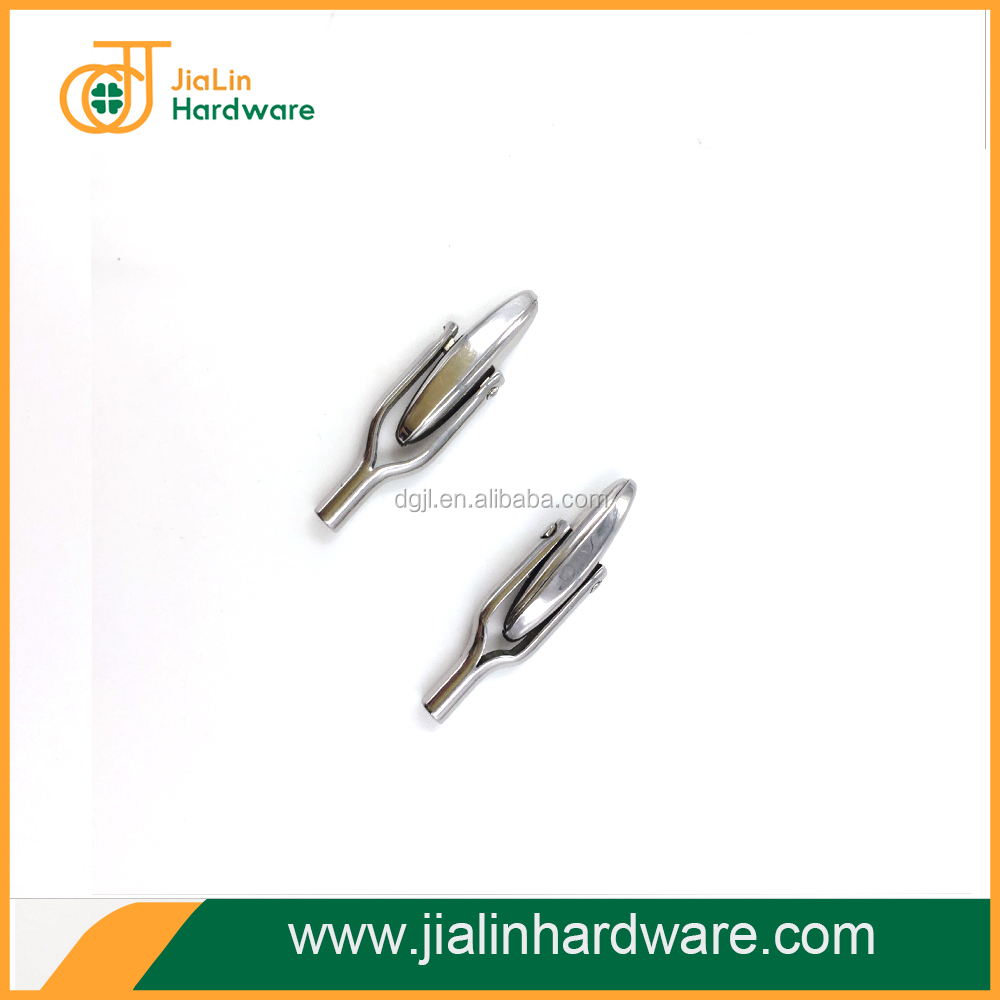low price custom special shape silver stainless steel cufflinks