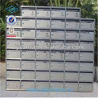 simple style mailbox posts cast aluminum