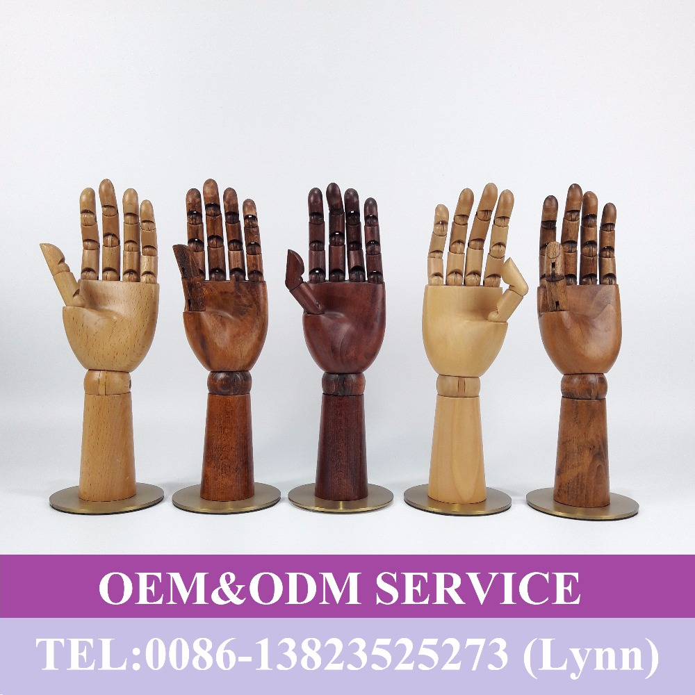 Wooden hand torso, wooden hand <strong>model</strong>, hand mannequin