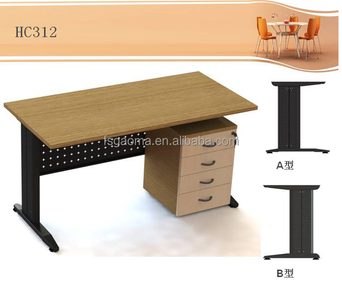 White colour table leg brackets and office furniture table legs