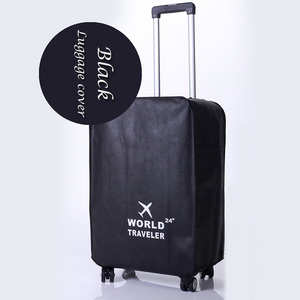 Non-woven fabric Dustproof protective waterproof travel waterproof make custom suitcase luggage cover
