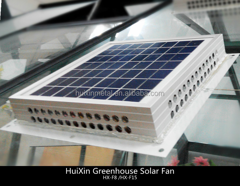 Greenhouse Solar Powered 15w And 12v Ventilation Fan Buy