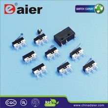 Daier roller lever micro momentary switch 24v