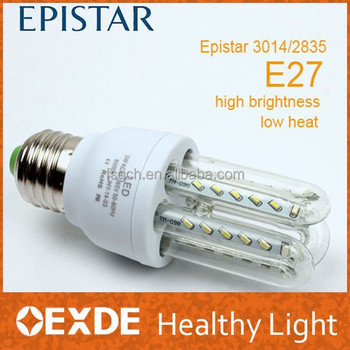 Foshan Alibaba Energy Saving Light Led Corn Lamp E27 B22 3u 9w ...