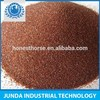 Low dust CaO 9% garnet30-60 for surface anti-corrosion