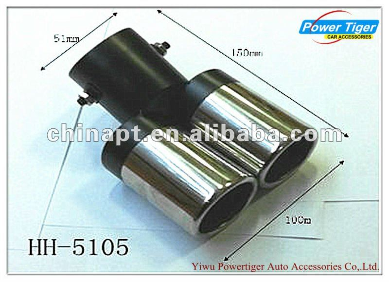 auto adjustable stainless steel exhaust pipe muffler tip