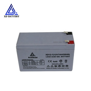 Rechargeable Free Maintenancesealed Deep Cycle 12V 17Ah Storage Solar Battery