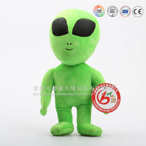 2015 new arrival Plush Alien Toys / stuffed Alien Toy Plush Doll& Plush Alien Toy