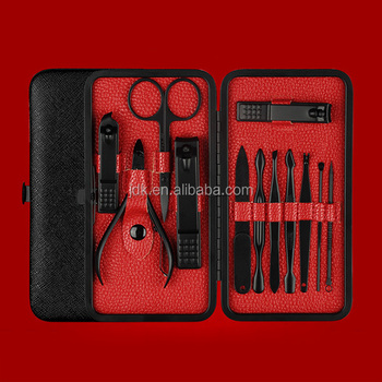 12 Pieces Nail Beauty Manicure Kit Nail Clippers Pedicure Set