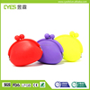 Wholesale colorful cute silicone coin purse