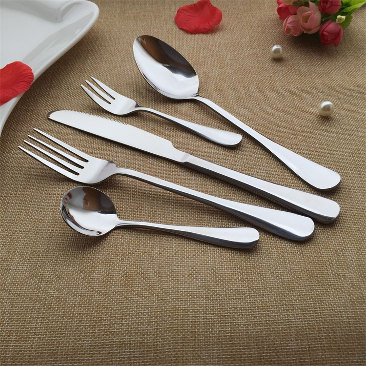 restaurant cutlery/ Stainless steel Flatware/cutlery set for hotel