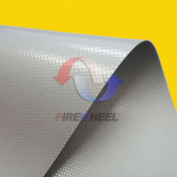Silicone coated fiberglass fireproof cloth for heat for Is fiberglass heat resistant
