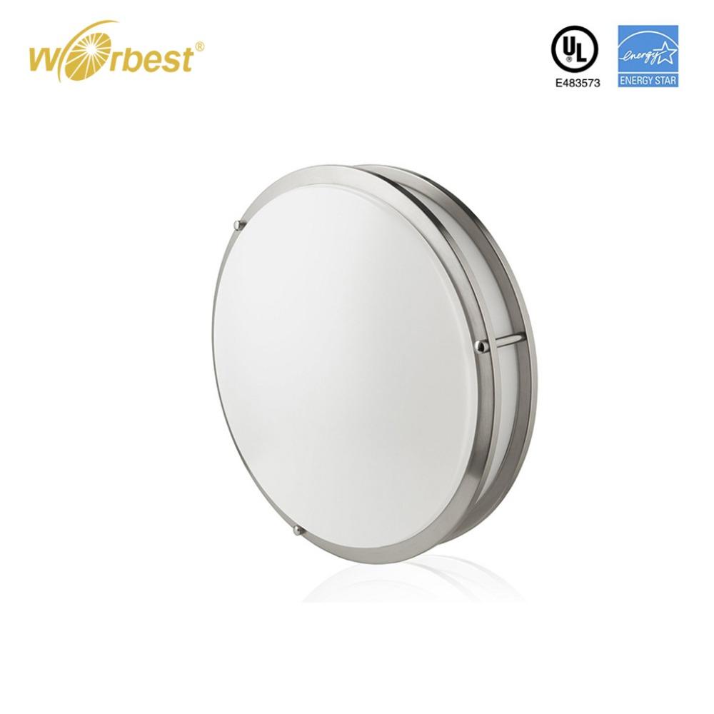 Worbest cocina iluminación LED montaje superficial 14 pulgadas 25 W ...