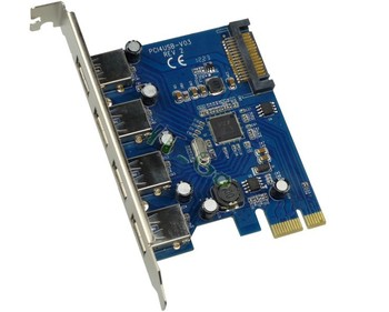 Usb3.0 4 Port Pcie Card/ Usb 3.0 Pci Express Card Sata Port ...