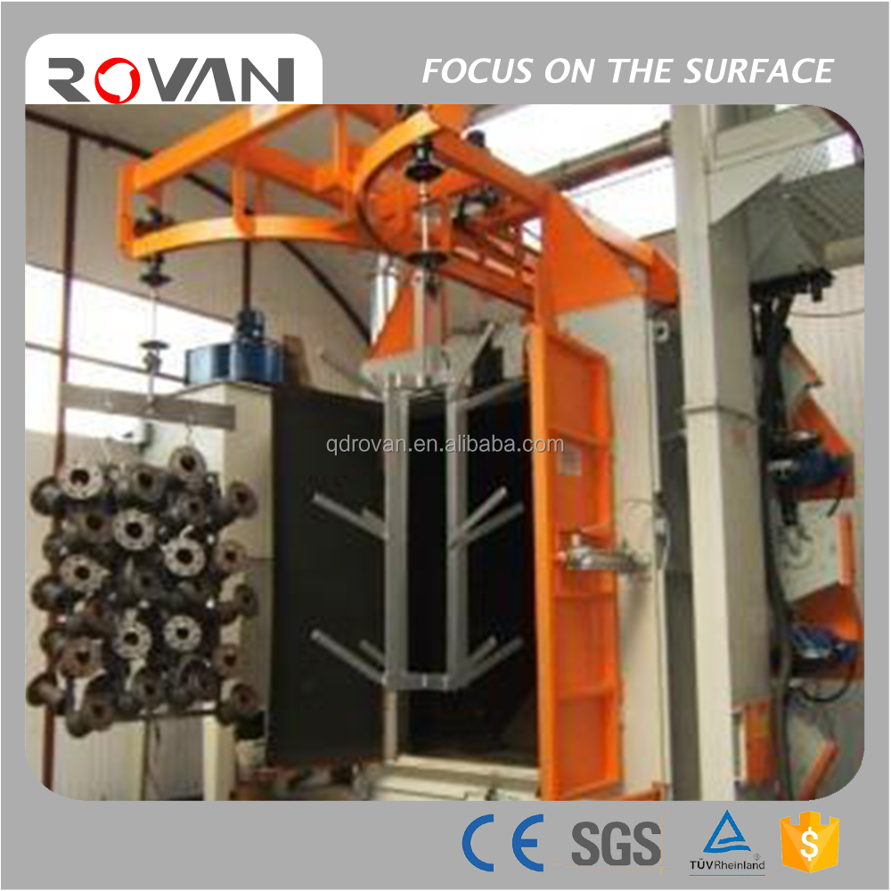 Hook Shot Blasting Machine, Hanger Spinner Rust Removal Machine