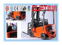 New Style Olift electric forklift motor in boat with certificate CE ISO and SGS