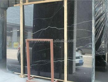 15 20mm magazzino nero marquina marmo nero marquina grande lastra di