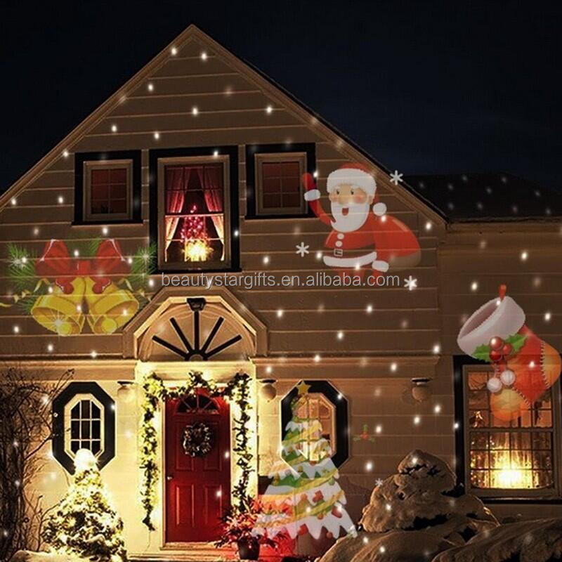 Outdoor Holiday Projector Led Light 12
