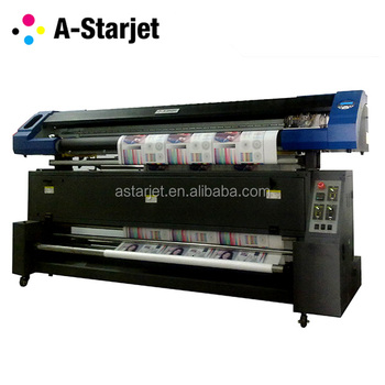 A-Starjet 7702/03 flag banner Sublimation, 1.8M/5.9Feet /70Inch Printer with DX7/DX5