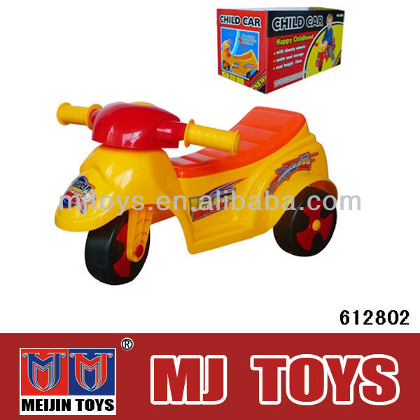 ABS plastic safety ride on motor for baby