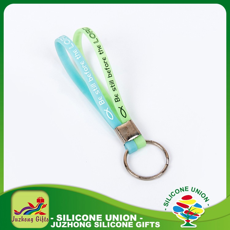 Rubber new product in china good quality fast delivery keychain