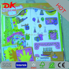 Factory sale die cut sticker for scrapbooking