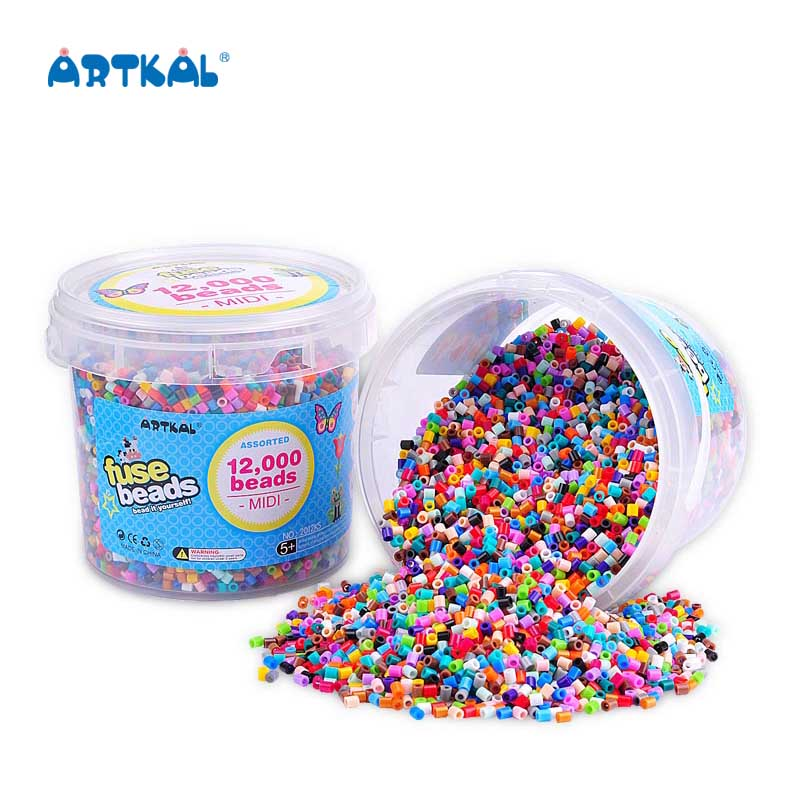 Artkal Colorful Christmas Gifts Mini Hama Beads for Fuse Beads 36 Grid