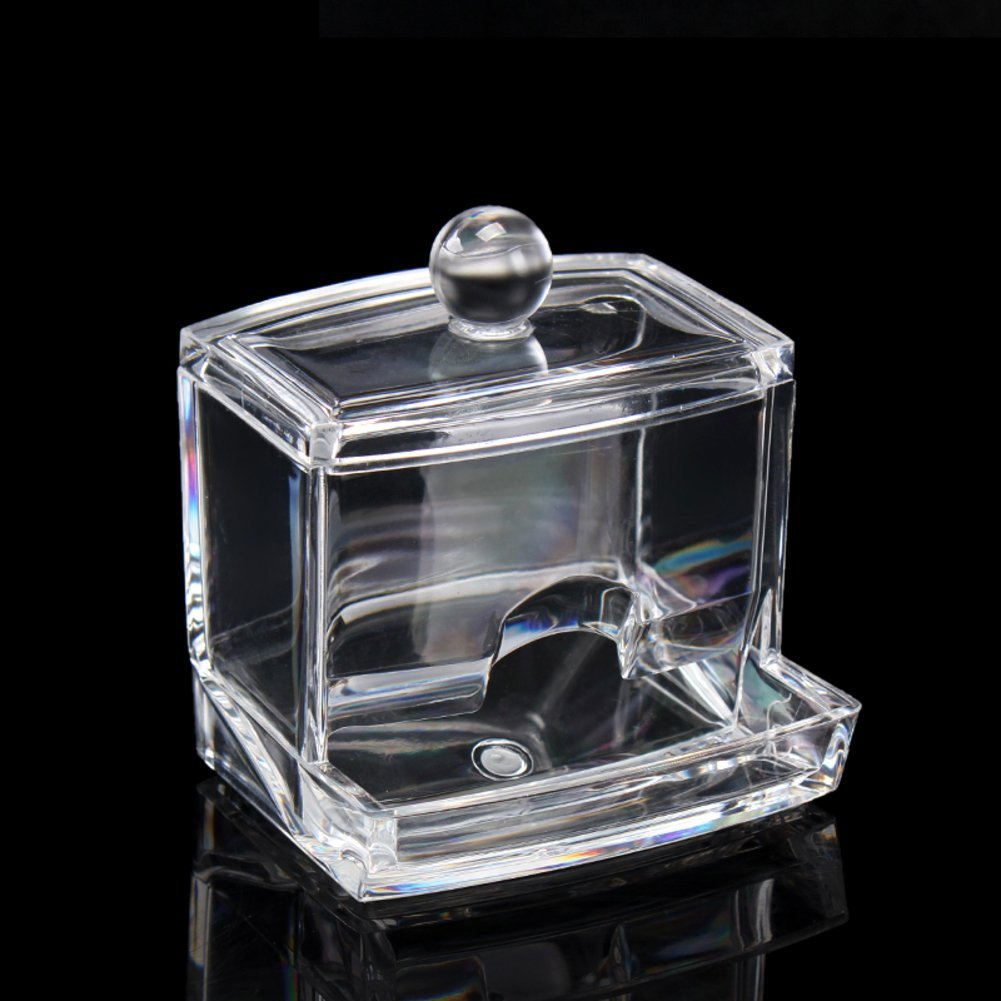 Transparent storage boxes for cosmetics/ combination box/ cabinets/Make-up tool storage box-D
