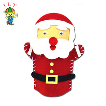 Modern style custom design Santa Claus cartoon puppet