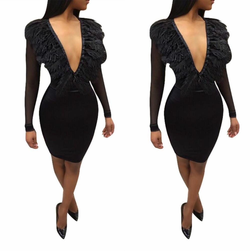 5ddb058551637 مصادر شركات تصنيع فستان قصير مثير الريش وفستان قصير مثير الريش في Alibaba. com