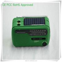 Rechargeable USB Port LED light radios