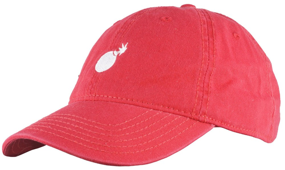 The Hundreds Solid Bomb Dad Hat Strapback Headwear Cap Streetwear Fashion  Red e38ce8dc7b0