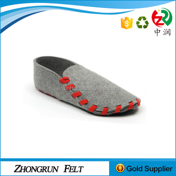 lowest moq free sample soft shoes pure handmade wool felt soft shoe for baby - Free Sample Shoes
